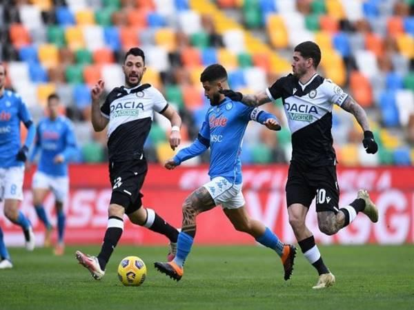 Dự đoán kèo Châu Á Udinese vs Napoli (1h45 ngày 21/9)